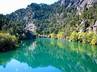 Laguna de Valdeazores, Sierra de Cazorla, Segura y Las Villas. Jaen. Andalusia. Spain. Europe.