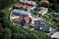 AMEOS Department of Forensic Psychiatry and Psychotherapy, Neustadt in Holstein, Germany, aerial photo