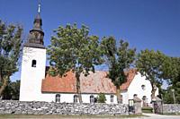 Church on Island Faroe, Gotland, Sweden