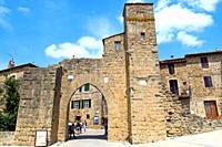 Monticchiello, Siena region, Tuscany, Italy, Europe