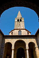 The 6th century Euphrasian Basilica, UNESCO World Heritage Site, Porec, Istria, Croatia, Europe