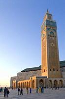 Hassan II Mosque, Casablanca, Morocco, North Africa, Africa
