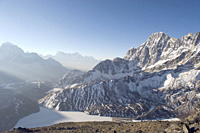 View from Gokyo Ri, 5483m, Gokyo, Solu Khumbu Everest Region, Sagarmatha National Park, Himalayas, Nepal, Asia