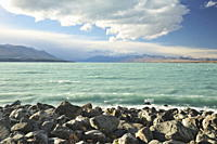 Lake Tekapo, Canterbury, South Island, New Zealand, Pacific