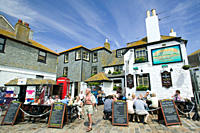 A pub in St Ives Cornwall UK