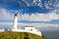 The Mull of Galloway lighthouse on Scotlands most southerly tip UK