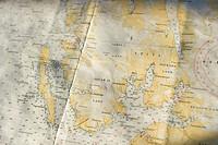 Maps Svalbard archipelago Longyearbyne, Svalbard, Norway