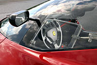 Ferrari P4/5 by Pininfarina, model year 2006_, red, interior view, Interior view, Cockpit, technique/accessory, accessories