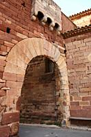 Spain, Catalunya, Prades, Town's Gate
