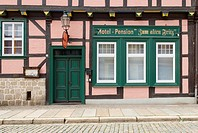 Pension, Quedlinburg, Germany