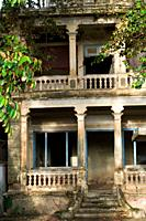 Colonial house on east bank, Battambang, Cambodia
