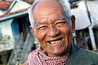 Man near Tonle Bati, Takeo, Cambodia