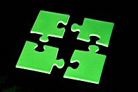 digital enhancement - parts of jigsaw - symbolism for existential orientation resp  education