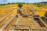 Sao Cucufate Roman Ruins,Vidigueira, Alentejo  Portugal.