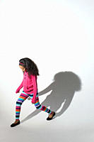 Girl and shadow