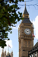 Big Ben clock tower, Westminster, London