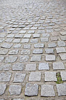 Cobbled street in London