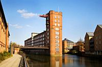 Rowntree Wharf formerly Leethams Mill York Yorkshire UK