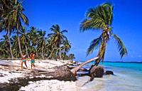 República Dominicana Península de Samaná Las Terrenas  Playa Bonita / Bonita beach