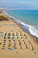 Bajondillo-Playamar beach, Torremolinos, Costa del Sol, Malaga Province, Spain