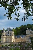 Chateau d'Usse, Rigny-Usse, Indre-et-Loire, Loire valley, France