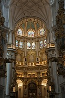 Interior Of Granada Cathedral, Granada, Andalusia, Spain