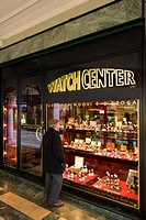 Watch center, Lugano, Switzerland