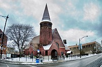 Lake View Presbyterian Church was built in 1888 and designed by Chicago architect John Wellborn Root  Chicago,Illinois,USA