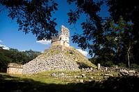 Archaeological site Labná, Puuc Route, Yucatan, Mexico