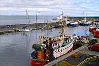 Balbriggan Harbour, Co  Dublin, Ireland