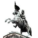 Equestrian statue of Archduke Charles at Heldenplatz square, Vienna, Austria, Europe