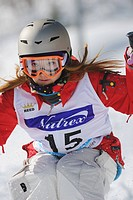 Female Freestyle Skier