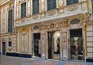 The Galleria Nazionale di Palazzo Spinola in Genova, North West Italy  The museum collection includes artwork, furnishings, ceramics, silver, books an...