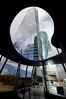Torre de Cristal y Torre Espacio, CTBA, Cuatro Torres Business Area, Madrid, Spain.