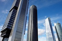 CTBA, Cuatro Torres Business Area, Madrid, Spain.