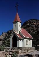 Chapel in Creel Sierra Tarahumara Chihuahua Mexico