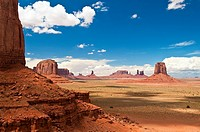 Looking through the North Window at the Buttes in Monument Valley, Arizona, USA