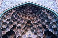 Iran, Esfahan, Isfahan, Sheikh Lotfollah Mosque,