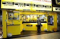 Western Union branch, Hong Kong, China, Asia