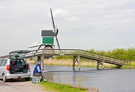 windmill near Groot-Ammers, Netherlands
