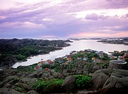 Sweden, West Coast, Skarhamn village