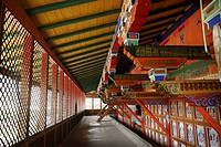 Samye Monastery is located about 30 kms/20 miles west ot Tsetang across the Tsangpo River in Tibet