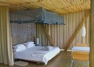 Sleeping area, Singita Game Reserve, South Africa
