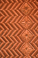 Details in architectural design, Fatehpur Sikri, in the state of Uttar Pradesh, India.