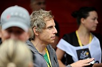 Ben Stiller during his visit to Lance Armstrong's Team Radio Shack, Tour de France 2010, Rotterdam, Netherlands, Europe