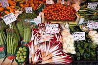 Italy, Venice. Vegetables for sale in a market. Credit: Wendy Kaveney / Jaynes Gallery / DanitaDelimont.com