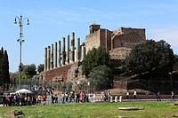 Roman Forum, Rome, Italy, Europe