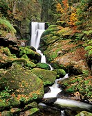 Waterfall near Triberg, Central Black Forest, Baden_Wuerttemberg, Germany, Europe