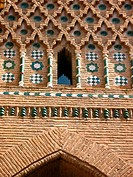 Mudejar art, Teruel, Aragon, Spain