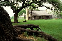 USA, Texas, Johnson City, Johnson Homestead, L.B.J. National Historic Park